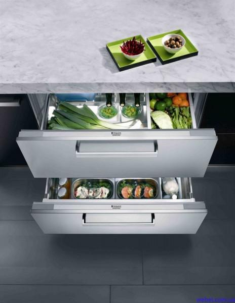 Новые модели встраиваемых холодильников