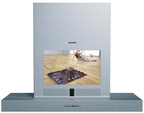 Кухонные вытяжки с встроенным телевизором