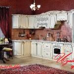 Готовые стандартные кухонные гарнитуры 20