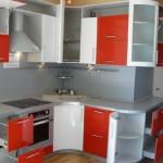 Кухни из МДФ под ПВХ