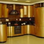 Кухни эмаль Золото
