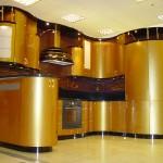 Кухня эмаль Золото