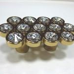 Мебельные ручки с кристаллами (стразами) Swarovski