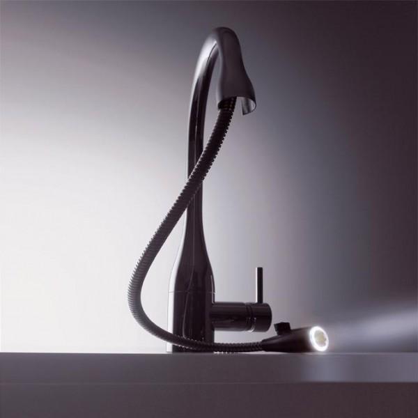 Смесители для кухни с подсветкой