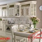 Готовые стандартные кухонные гарнитуры 56