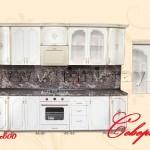 Готовые стандартные кухонные гарнитуры 67