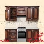Готовые стандартные кухонные гарнитуры 10